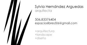 Silvia Hernandez business card