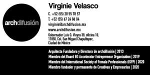 virginie velasco new business card